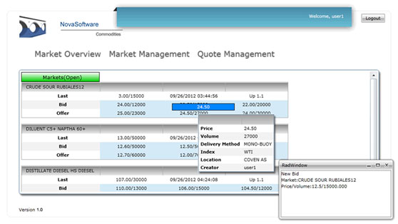 Futures exchange system
