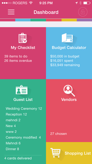 Wedding Plan  case study