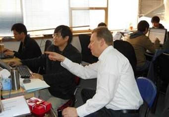 German Partner Floyd Software Outsourcing Visits Nova Software Headquarters in Chongqing 3